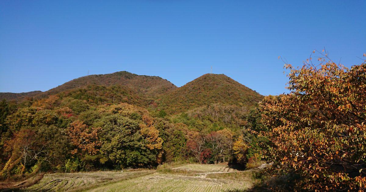 虚空蔵山の紅葉